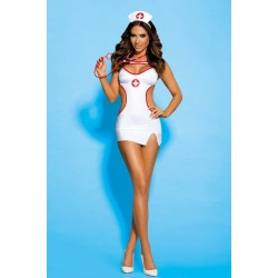 Costume Set Sexy Nurse (L/XL)
